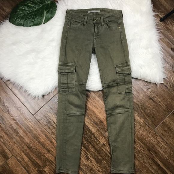 870513843fefff Vince • Skinny Olive Green Military Cargo Pants. M_5a8e26e3739d484feda7b848